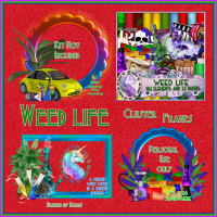 Weed Life Clusters by Barbs