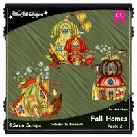 Fall Homes Elements CU/PU Pack 1